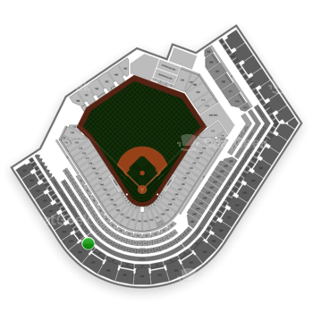 Cleveland Indians at Progressive Field Section 458 View