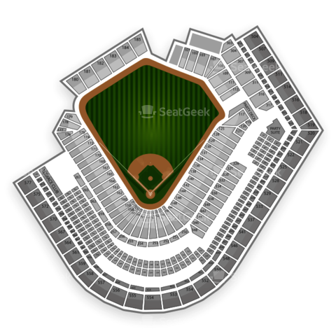 Progressive Field seating chart Cleveland Indians