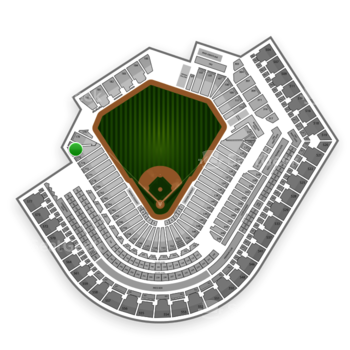 Cleveland Indians at Progressive Field Section 176 View