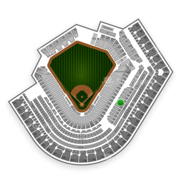 Cleveland Indians at Progressive Field Section 336 View