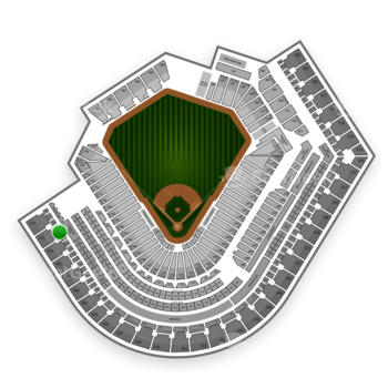 Cleveland Indians at Progressive Field Section 474 View