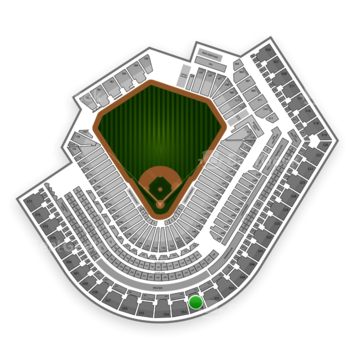 Cleveland Indians at Progressive Field Section 552 View