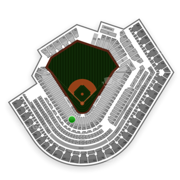 Cleveland Indians at Progressive Field Section 157 View