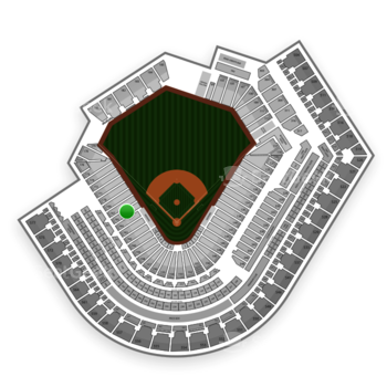 Cleveland Indians at Progressive Field Section 165 View