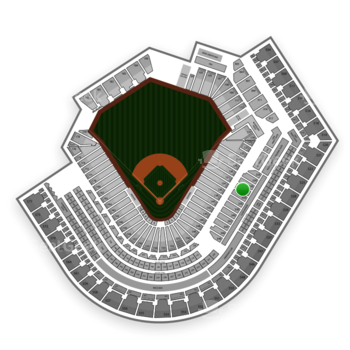 Cleveland Indians at Progressive Field Section 332 View