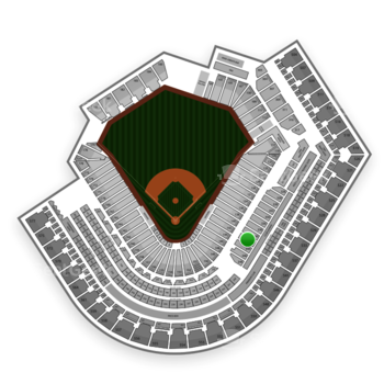 Cleveland Indians at Progressive Field Section 342 View