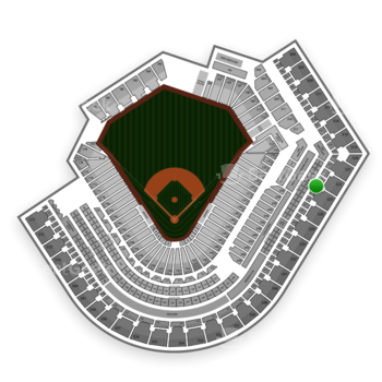 Cleveland Indians at Progressive Field Section 424 View