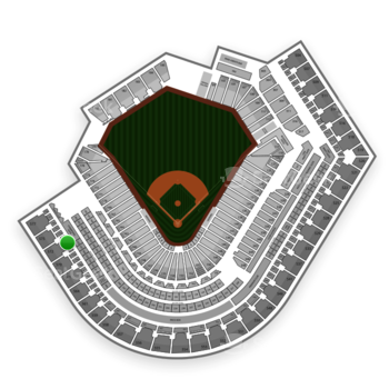 Cleveland Indians at Progressive Field Section 472 View