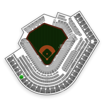Cleveland Indians at Progressive Field Section 564 View
