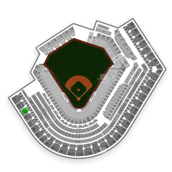 Cleveland Indians at Progressive Field Section 572 View