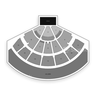 Xfinity Center Seating Chart Music Festival
