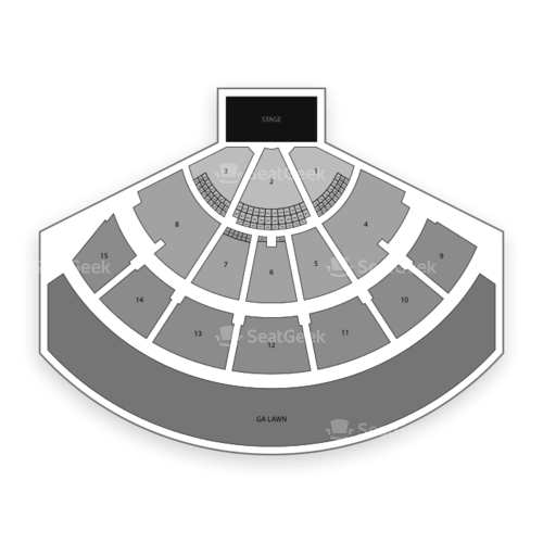 Xfinity Center Seating Chart Concert