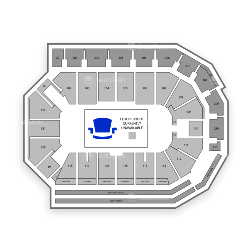 PPL Center Seating Chart Dance Performance Tour