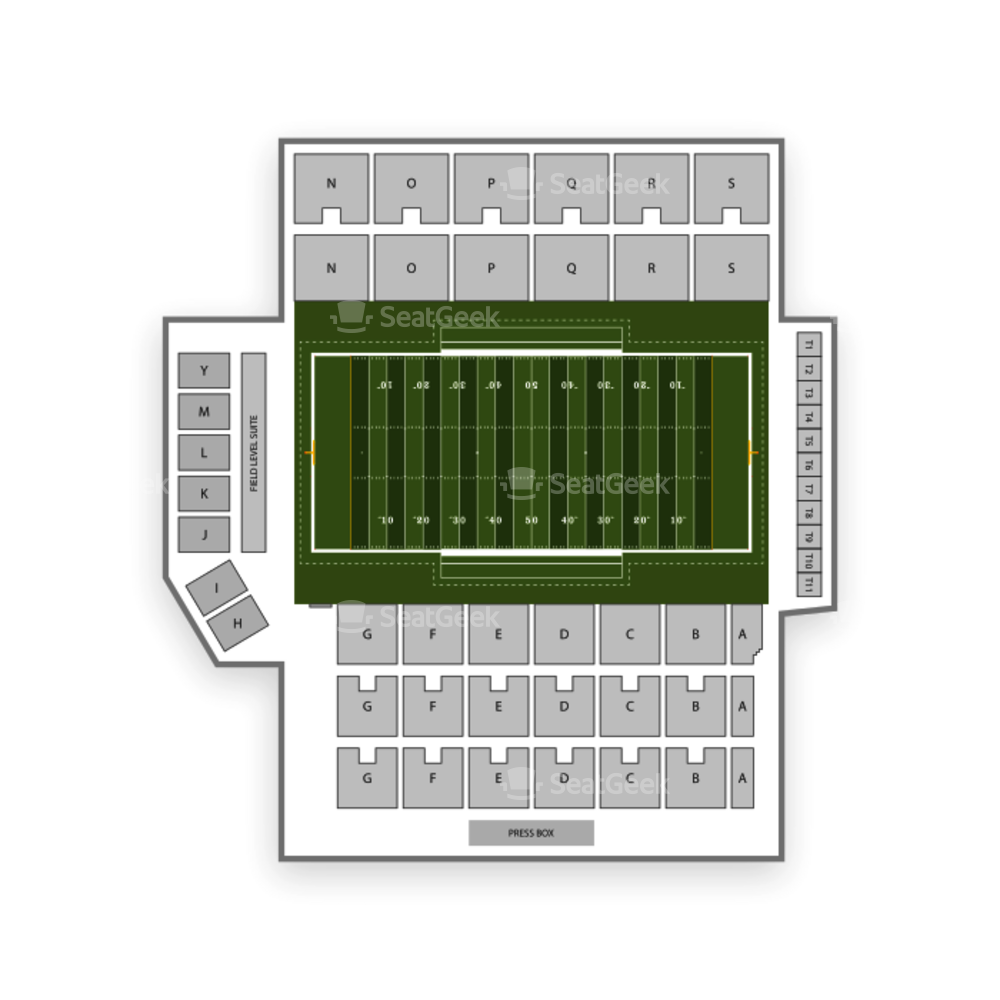 Cramton Bowl Seating Chart NCAA Football
