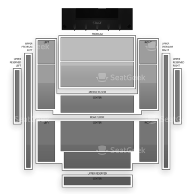 Penns Peak seating chart Creedence Clearwater Revisited