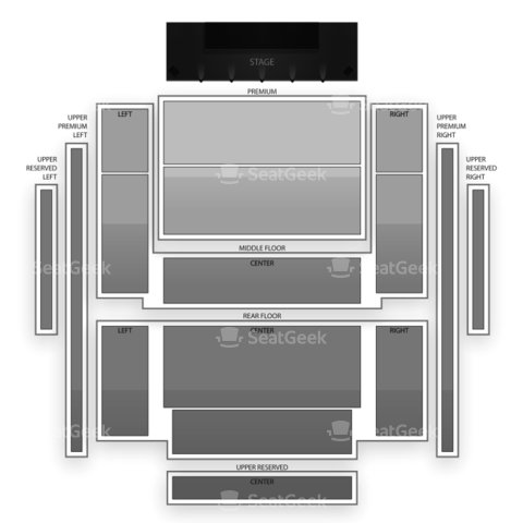 Penns Peak seating chart Dark Star Orchestra
