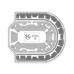 Denny Sanford Premier Center Seating Chart Wrestling