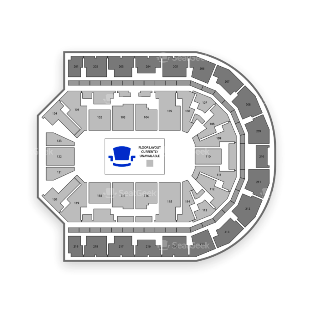 Denny Sanford Premier Center Seating Chart Cirque Du ...
