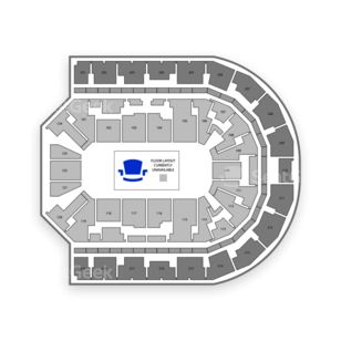 Denny Sanford Premier Center Seating Chart Wwe