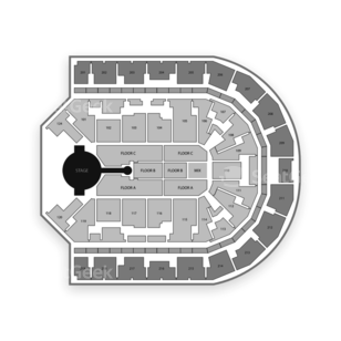 Denny Sanford Premier Center Seating Chart Concert
