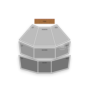 American Music Theatre Seating Chart Theater
