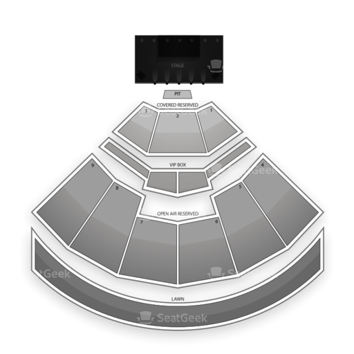 Time Warner Cable Music Pavilion at Walnut Creek Seating Chart Concert