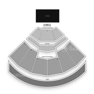 Walnut Creek Amphitheatre Seating Chart Concert