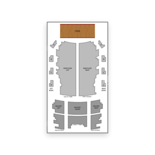 Jack White Theatre Seating Chart Comedy