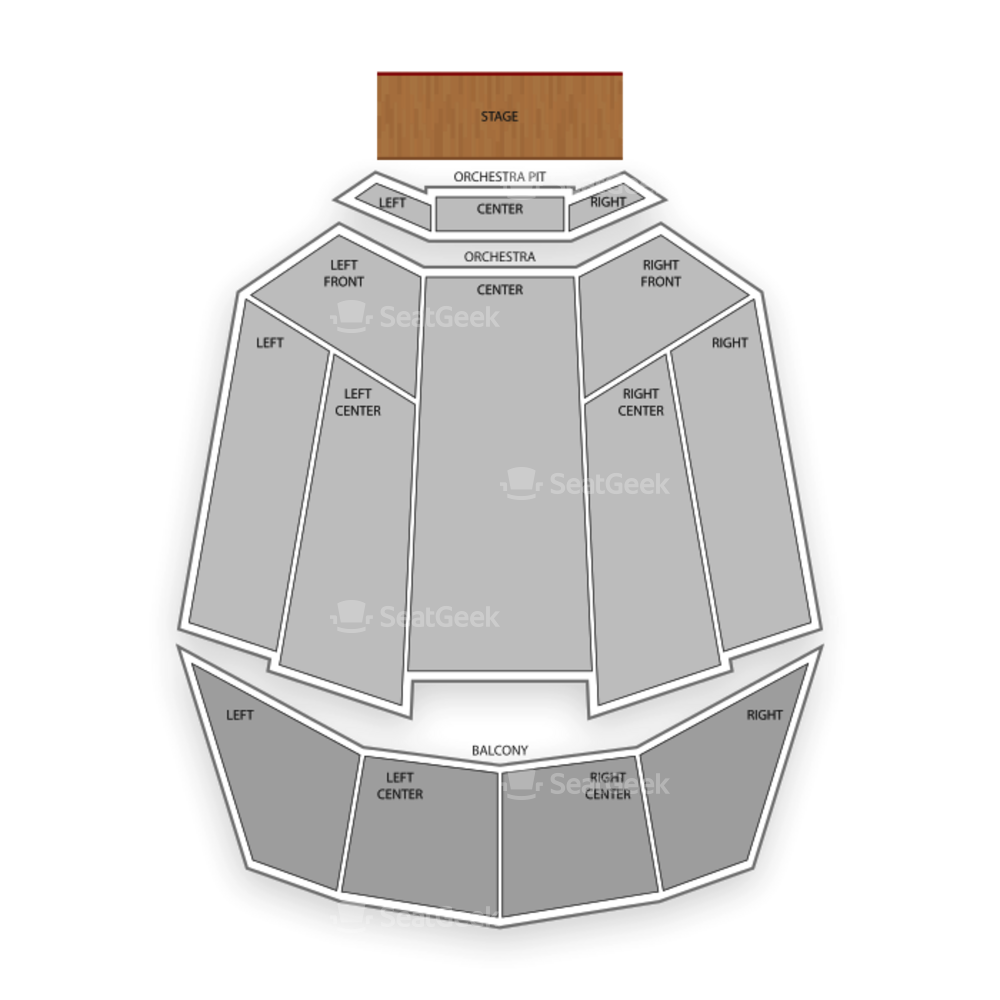 Tennessee Theatre Seating Chart Concert