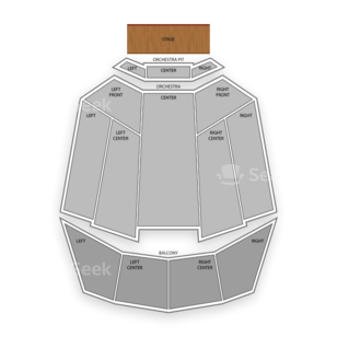 Tennessee Theatre Seating Chart Broadway Tickets National