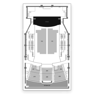 The Paramount Seating Chart Comedy