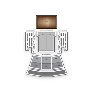 The Paramount Seating Chart Boxing