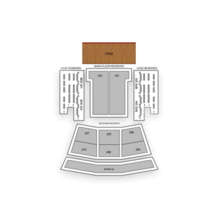 The Paramount Seating Chart Family