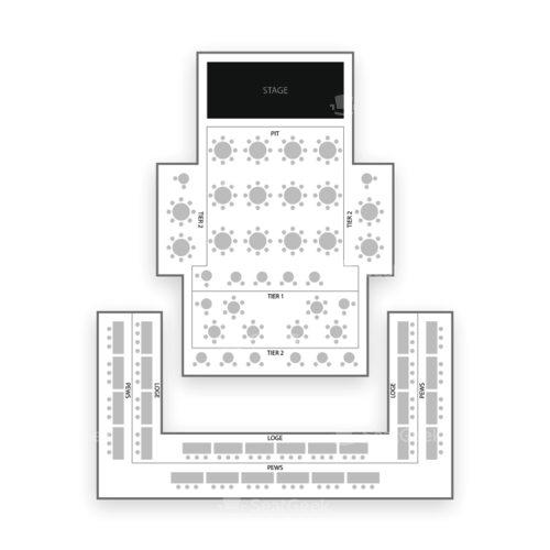 House of Blues - Orlando Seating Chart Concert