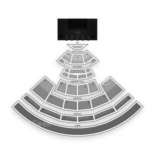 PNC Music Pavilion Seating Chart Theater