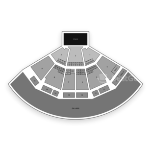 PNC Music Pavilion Seating Chart Comedy