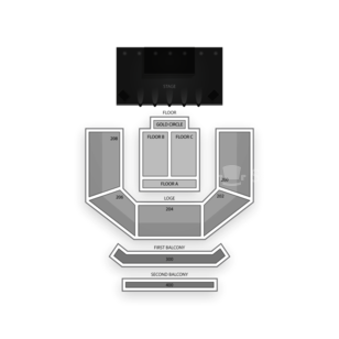 House of Blues Las Vegas Seating Chart Concert