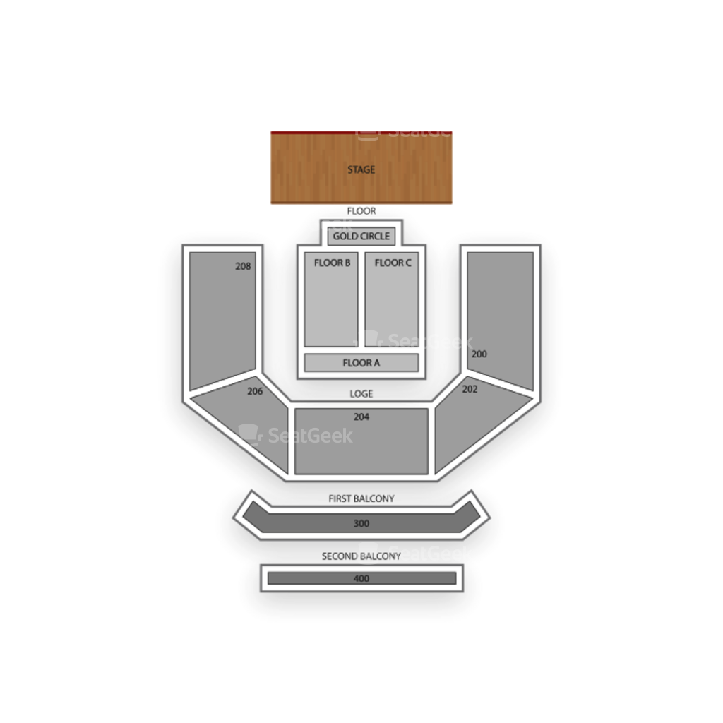 House of Blues Las Vegas Seating Chart