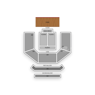 House of Blues Las Vegas Seating Chart Theater