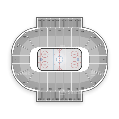 Santander Arena seating chart Reading Royals