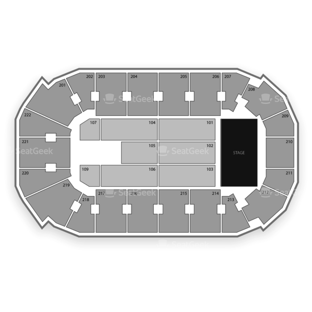 Covelli Centre Seating Chart Concert