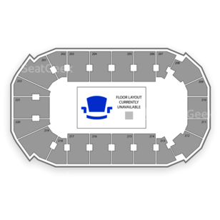 Covelli Centre Seating Chart Rodeo