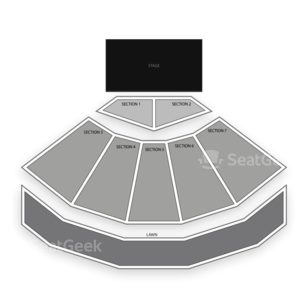 Cuthbert Amphitheater Seating Chart Theater