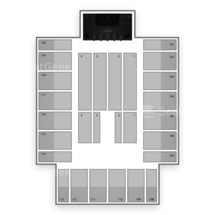 Reno Events Center Seating Chart Concert