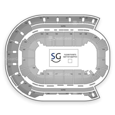 Ford Center seating chart Brantley Gilbert