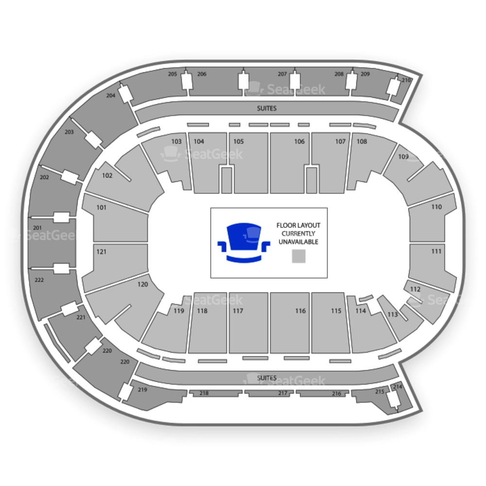 Ford Center Seating Chart NBA