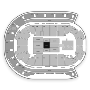 Ford Center Seating Chart Boxing