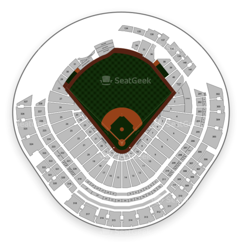 Marlins Park seating chart Miami Marlins