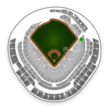 Miami Marlins at Marlins Park Section 1 View