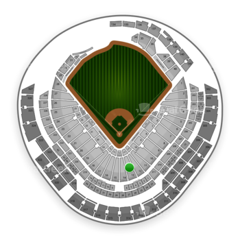 Miami Marlins at Marlins Park Section 13 View